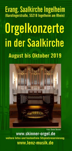 2019 Flyer Konzerte Aug Okt