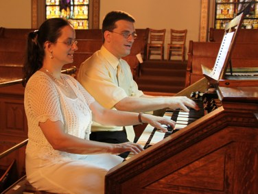 Orgel-Duo Brooklyn 2